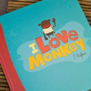 I love monkey - book