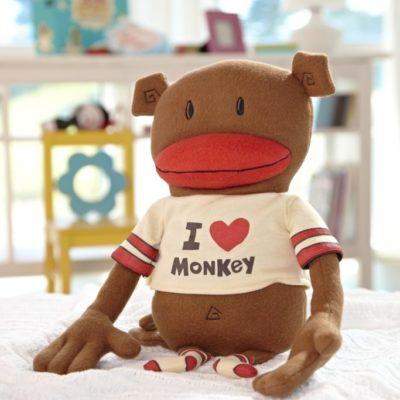 I love Monkey Plushjpg
