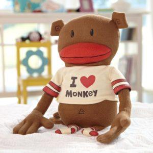 I love monkey - plush