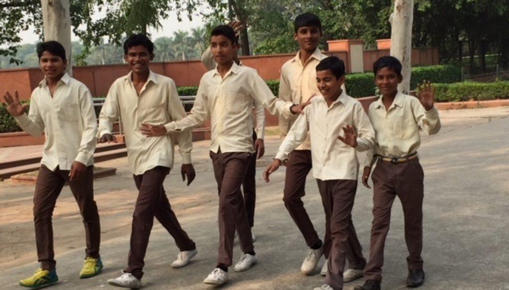 Michele Kambolis trip to India Chi School