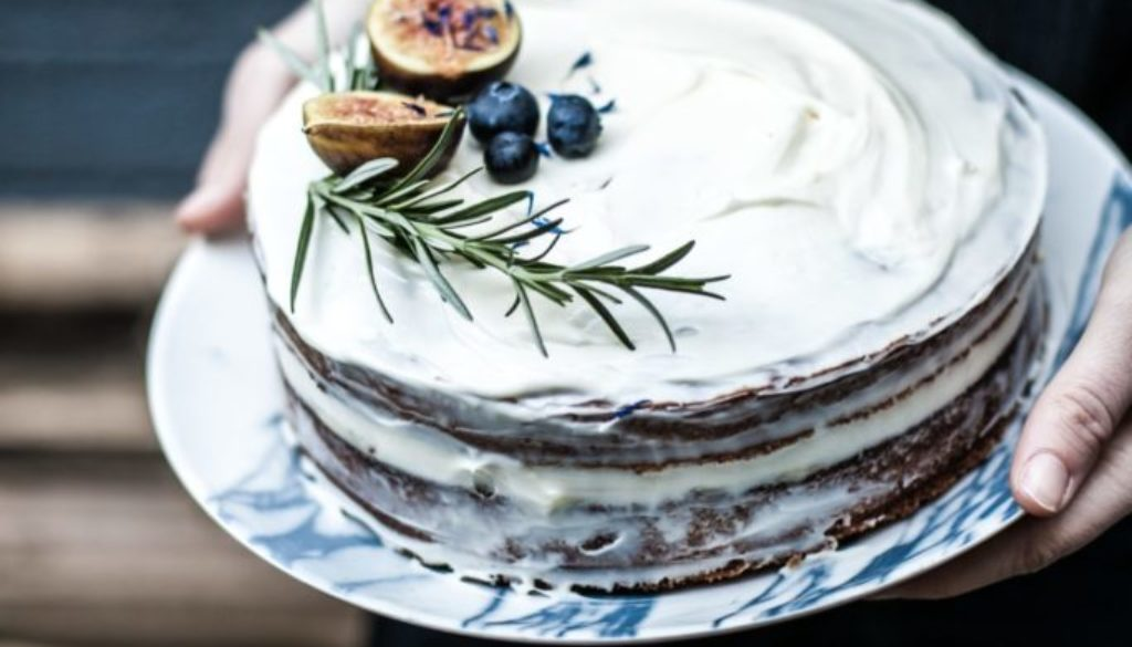 Easy Vegan Frosted Cake Chi School Recipe