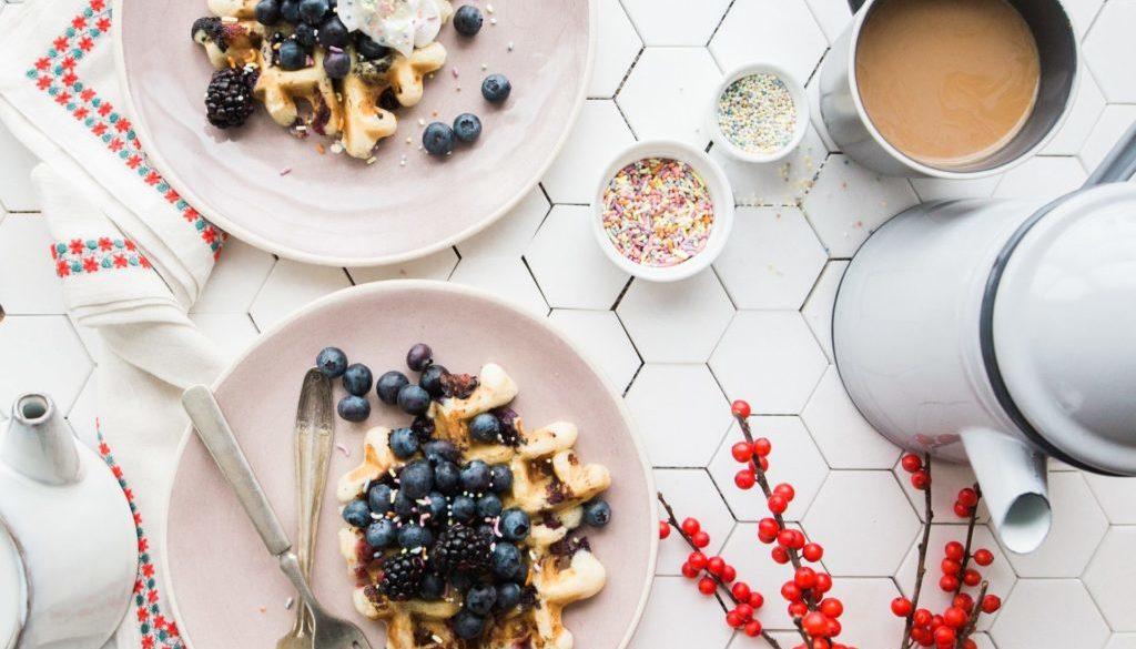 easy vegan waffles chi school recipe